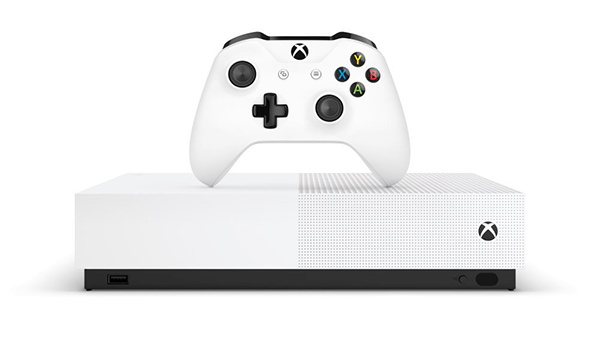 The Xbox One S All-Digital is coming on May 7th for $250.