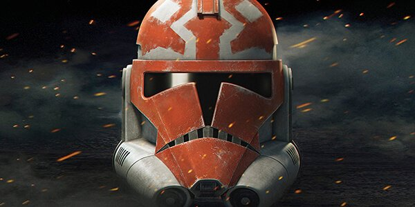 Captain Rex and the 501st Legion paint their helmets in support of Ahsoka