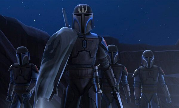 The Mandalorian Death Watch from The Clone Wars