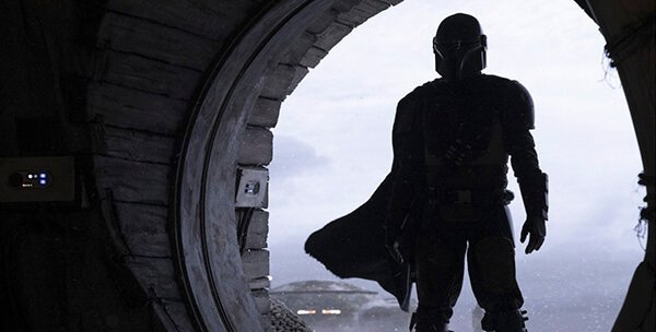 Actor Pedro Pascal plays the mysterious Mandalorian bounty hunter, he wears armor very similar to that of Boba and Jango Fett