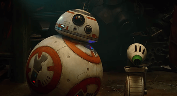BB-8 is back, of course