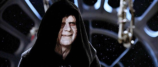 Emperor Palpatine from Return of the Jedi