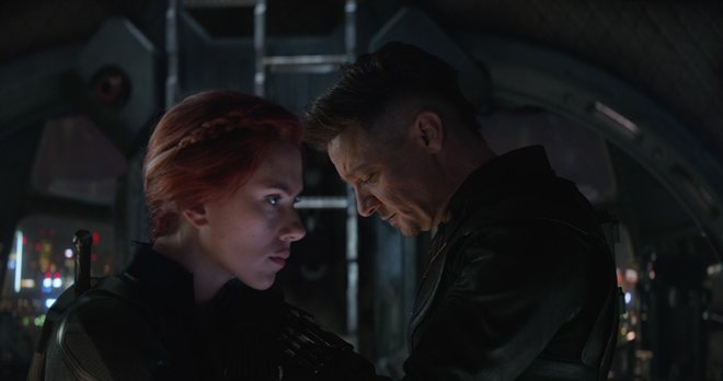 Black Widow and Hawkeye hope they can do some good