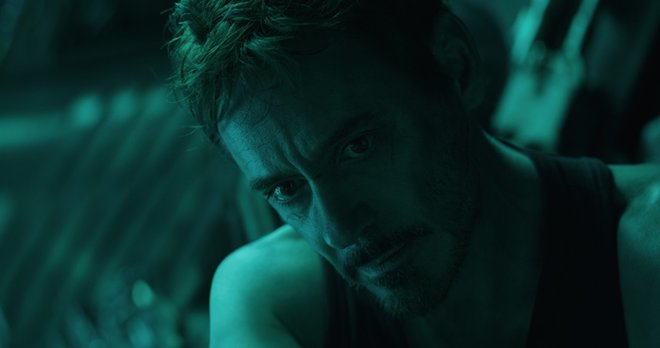A very serious side of Tony Stark