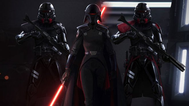 An Imperial Inquisitor and the new Purge Troopers