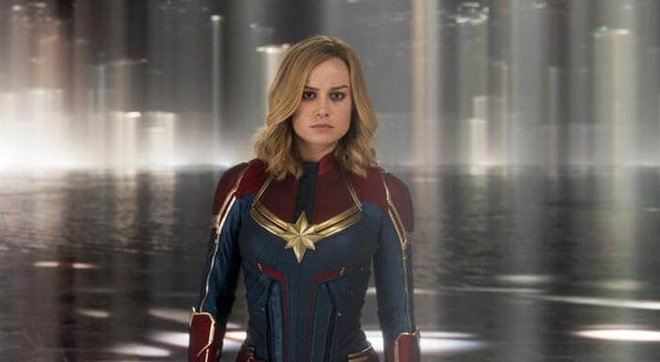 Captain Marvel helps out