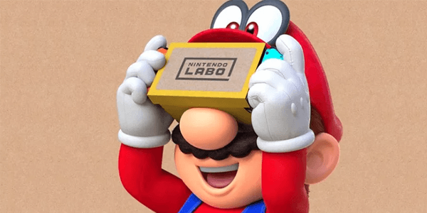 Labo VR is Coming to Zelda: Breath of the Wild and Super Mario Odyssey