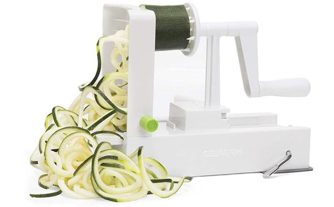Spiralize veggies for a healthy alternative