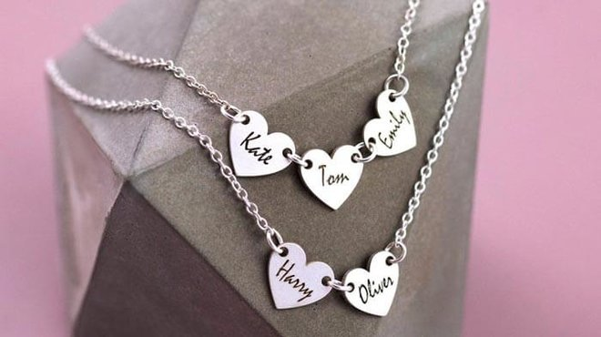 A personalized necklace for your loving Mother