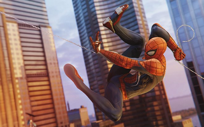 Marvel's Spider-Man sets itself apart thanks to the amazing swinging and acrobatic gameplay