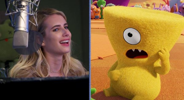Emma Roberts stars as Wedgehead in UglyDolls
