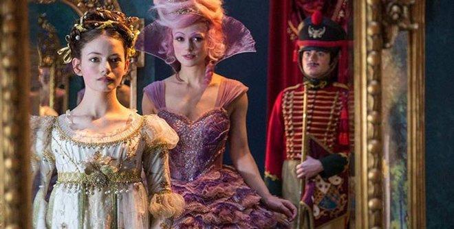 Mackenzie as Clara and Keira as Sugar Plum in The Nutcracker and the Four Realms