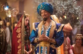 Preview aladdin will smith genie interview pre