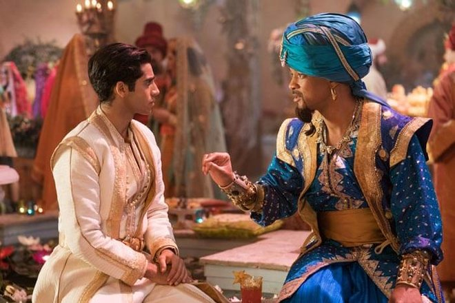 Genie Advises Aladdin on how to be a prince