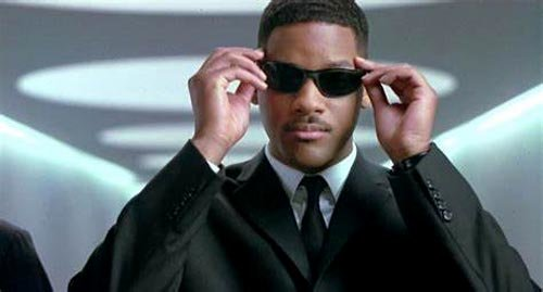 Will makes shades look cool in Men in Black
