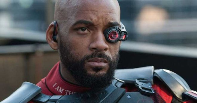 Will as Deadshot in Suicide Squad
