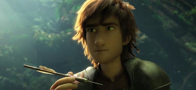 Can grown-up Hiccup be a great leader?