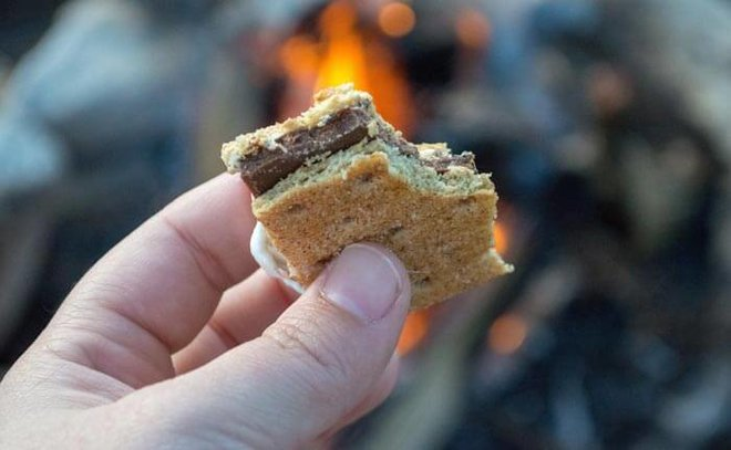You don't need a campfire for s'mores!
