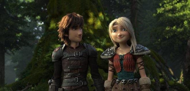 Hiccup and Astrid should rule together