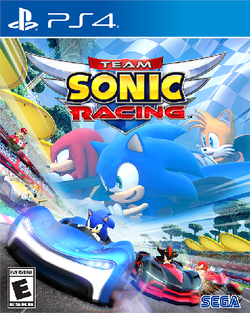 Team Sonic Racing PlayStation 4 Box Art