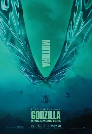 Godzilla: King of the Monsters Mothra Poster