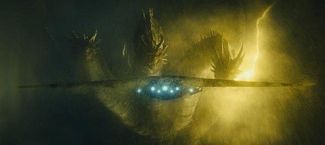 Three-headed monster Ghidorah