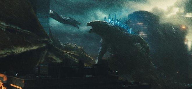 Ghidorah and Godzilla ready to rumble