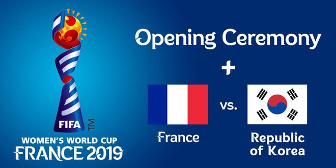 FIFA World Cup 2019 beings with France vs. South Korea