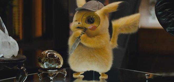 Pikachu is sure he's a crack detective