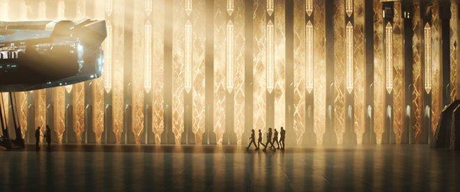 The Kree Starforce leaves on their mission