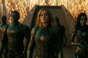 Captain Marvel Blu-ray Review – Looks Great and has Fun Extras