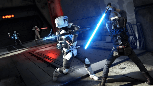 "If the lightsaber fighting feels as good as it looks, we could have a new contender for the title of ""Best Star Wars Game."""