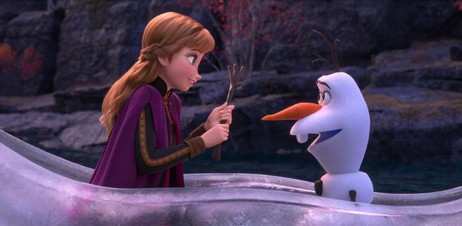 Anna and Olaf venture far from Arendelle in a dangerous but remarkable journey to help Elsa find answers.