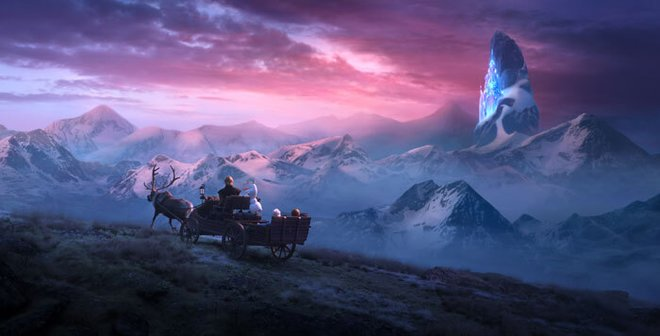 Elsa, Anna, Kristoff, Olaf and Sven journey far beyond the gates of Arendelle in search of answers