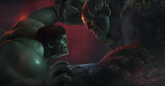 The Hulk takes on Abomination