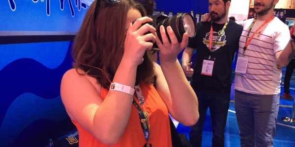 Kidzworld's teen writer experiences E3 for the first time