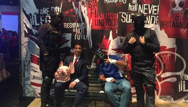 The cast of Watch Dogs: Legion