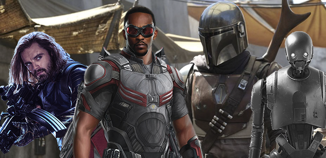 Disney will have a lot of new Marvel and Star Wars series'