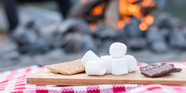 Make an easy Summer Smoothie and Campfire Trail Mix