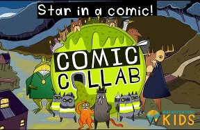 Create and star in a comic by WatAdventure