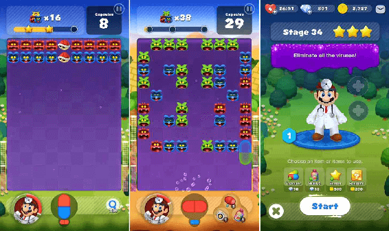 Dr. Mario World looks to be your next addictive phone game.