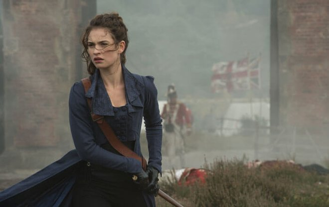 Lily in Pride and Prejudice and Zombies