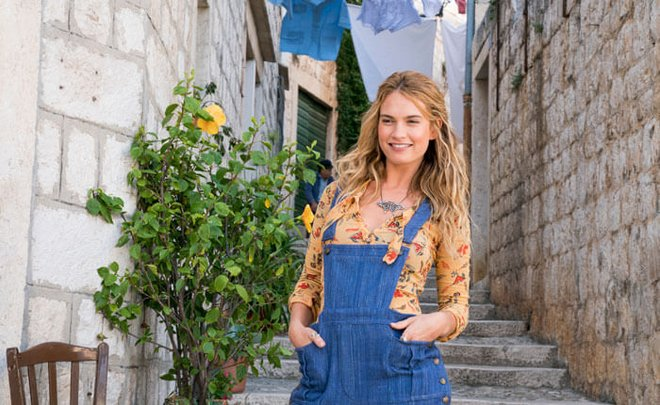 Lily in Mama Mia: Here We Go Again