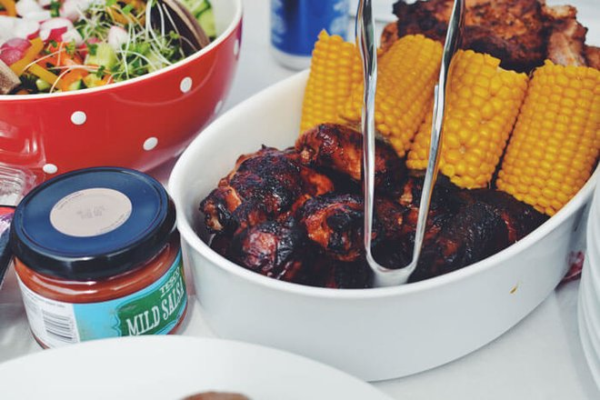 Throw a barbecue party with friends.