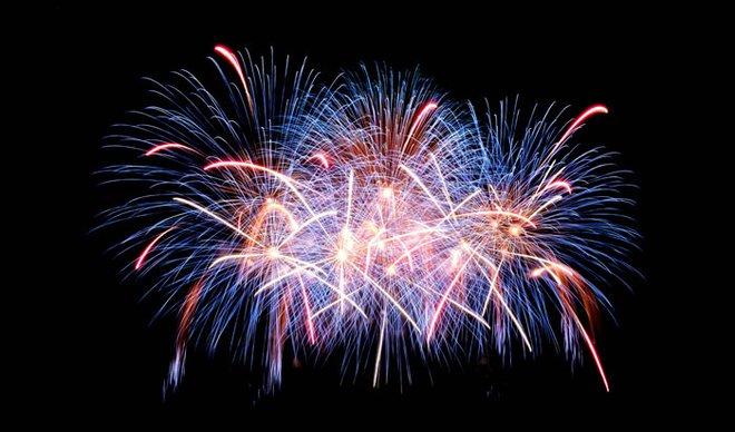 Attend a fireworks display.