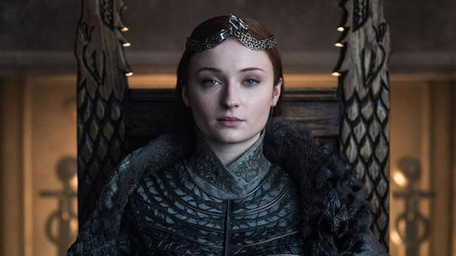 Sophie as Sansa Queen of Winterfell