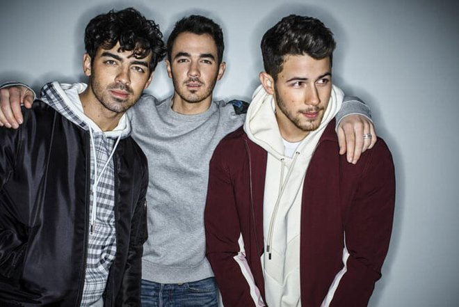 Joe, Kevin and Nick Jonas