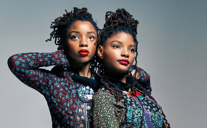 Halle (right) is one half the singing duo Chloe x Halle with her older sister.