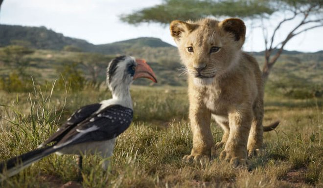 Young Simba with Zazu