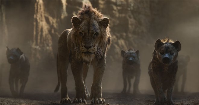 Scar tells hyenas to kill Simba